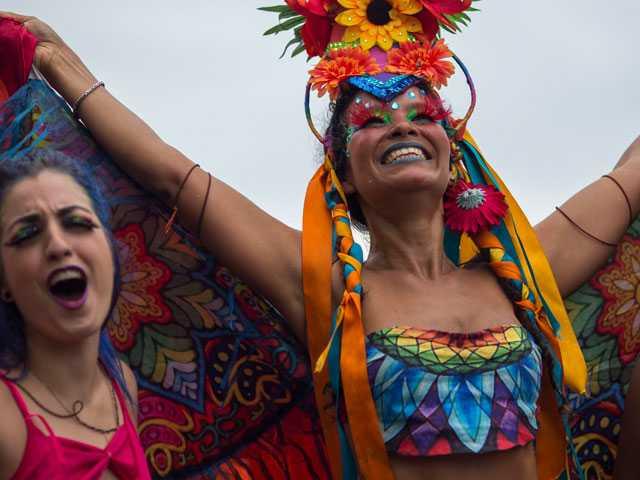 Thousands Celebrate in Rio's Gay Pride Parade on Copacabana