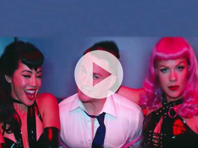 Watch: P!nk Goes Bettie Page on Channing Tatum in New 'Beautiful Trauma' Video