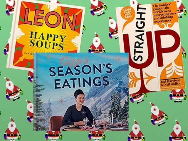 Readable. Edible. Drinkable. 8 Books for the Holidays