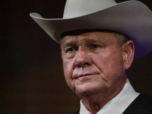 Pro-Roy Moore Group Fundraises Off Trump's Near Endorsement