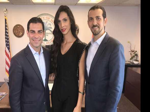 Miss Trans Israel Visits Miami for Transgender Awareness Month