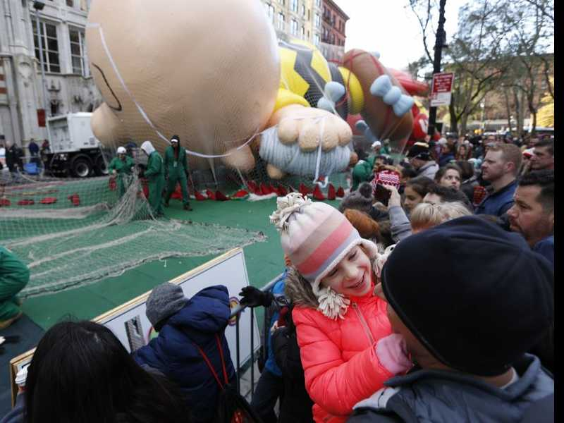 Balloons, Broadway Stars and Security for Macy's Parade