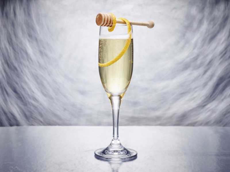 Welcome the New Year with a Special Sparkling Cocktail