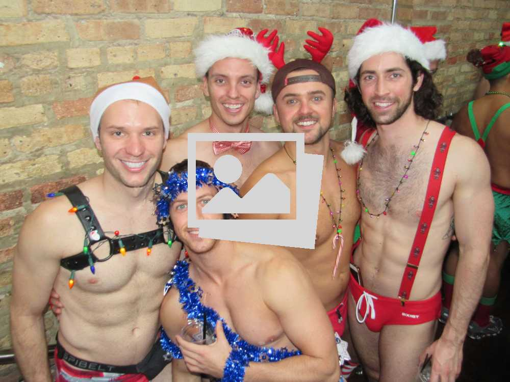 Santa Speedo Run Chicago :: December 2, 2017