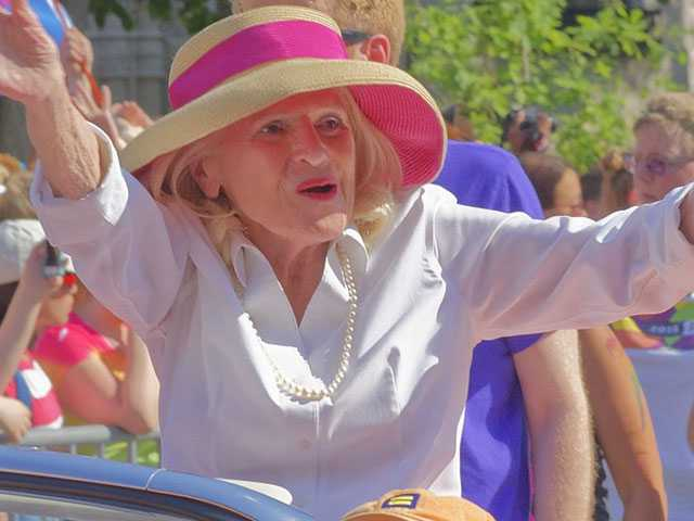 SAGE Renames LGBT Senior Center to Honor Edie Windsor