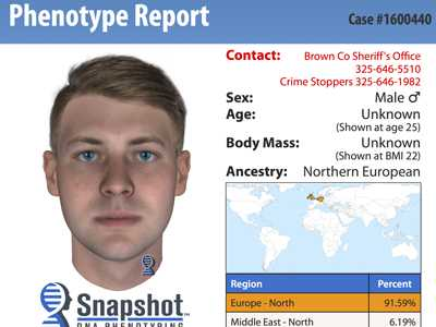DNA Sketch Leads to Suspect Confession in Texas Slaying