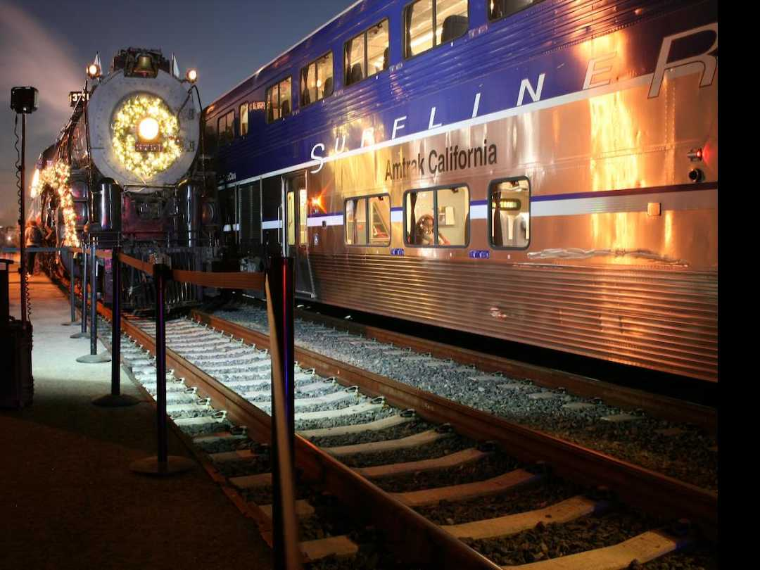 Holiday TrainFest and Toy Drive at LA Union Station