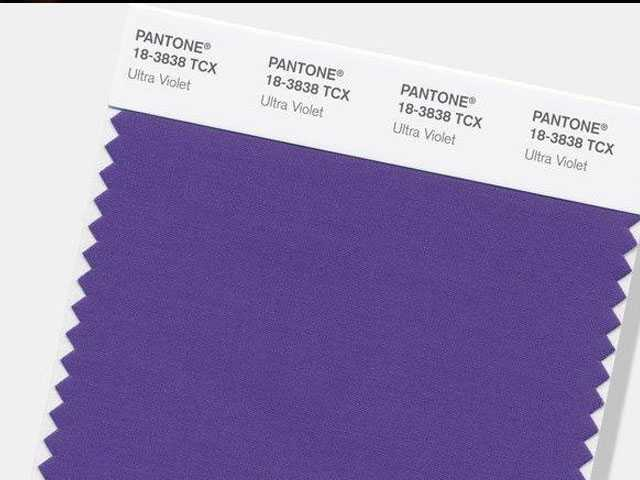 Pantone Announces 'Ultra Violet' as Color of the Year
