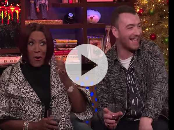 Watch: Sam Smith Calls Himself a 'Dick Monster,' Patti LaBelle's Reaction is All of Us