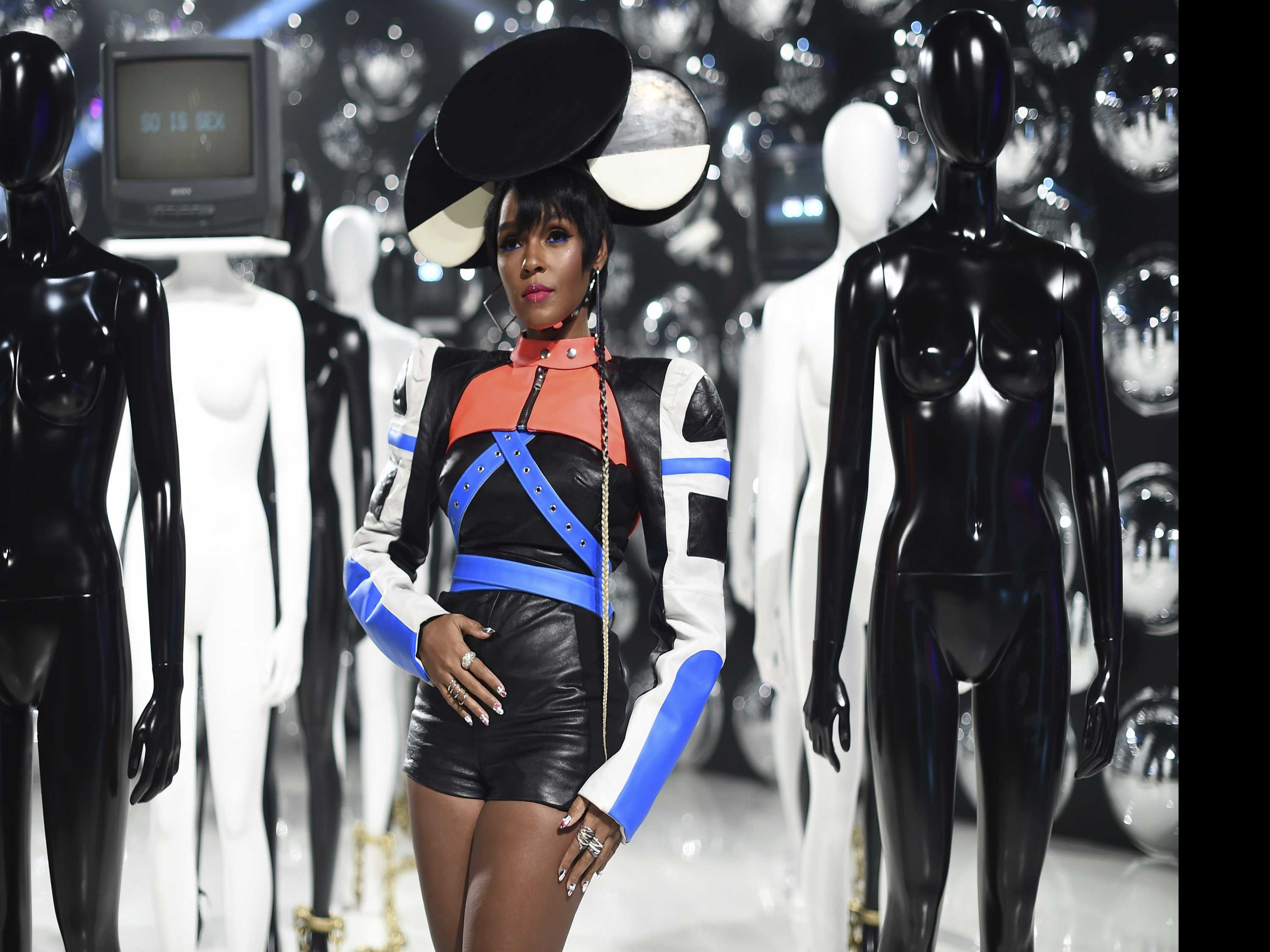 Janelle Monae Explores Surveillance in Her 1st Art Exhibit