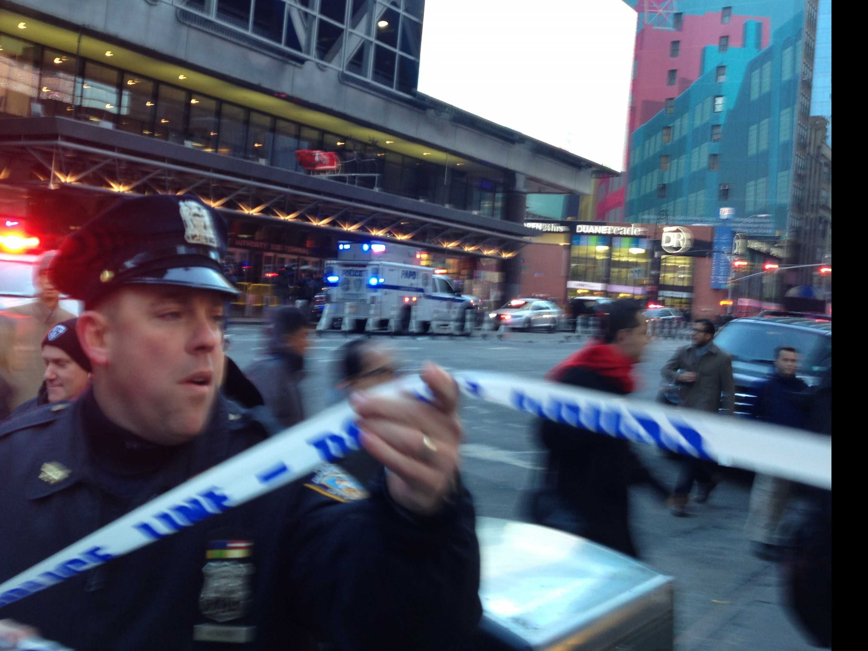 Official: Device Explodes on NYC Subway Platform