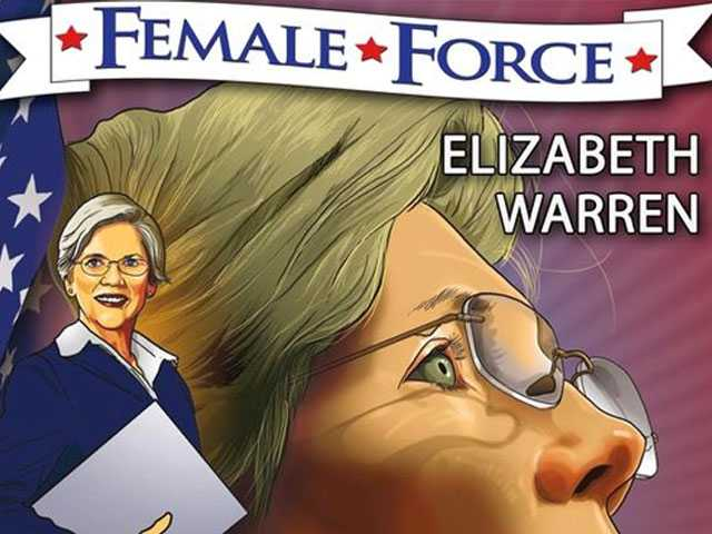 Sequel to Elizabeth Warren Comic Book Out