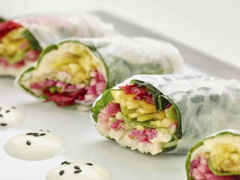 Culinary Detox: Veggie-Filled Spring Rolls
