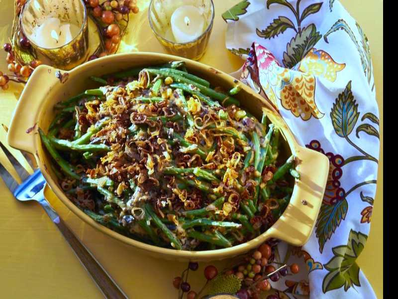 Recipe: Modern Green Bean Casserole