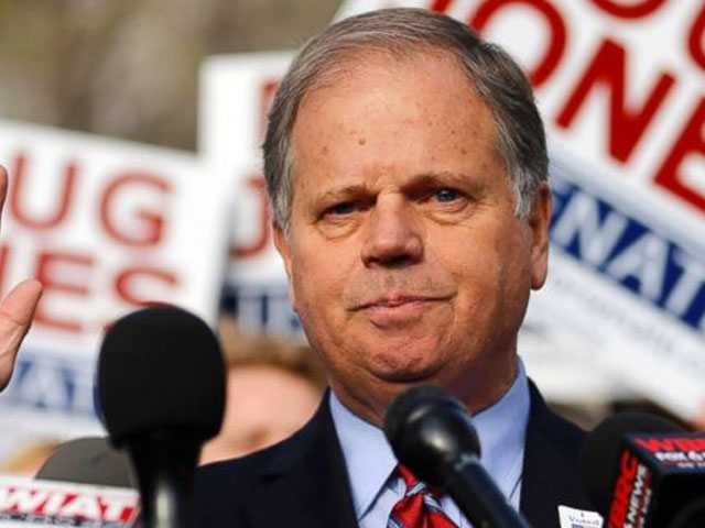 Democrat Doug Jones Defeats Roy Moore in Alabama Senate Race