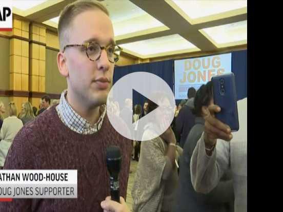 Doug Jones Supporters 'Inspired' By Senate Win