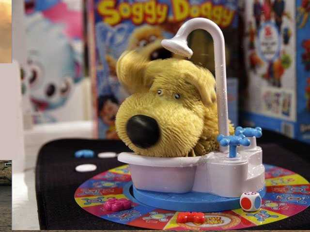 Board Games Get Messy with Squirting Toilets & Soggy Dogs