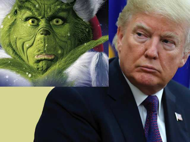 Poll: Voters Find Trump Meaner than the Grinch and Scrooge
