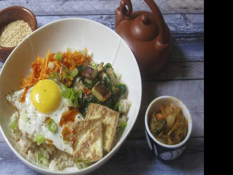 Recipe: Korean Grain Bowl