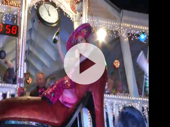 Florida Drag Queen Ushers in Key West New Year