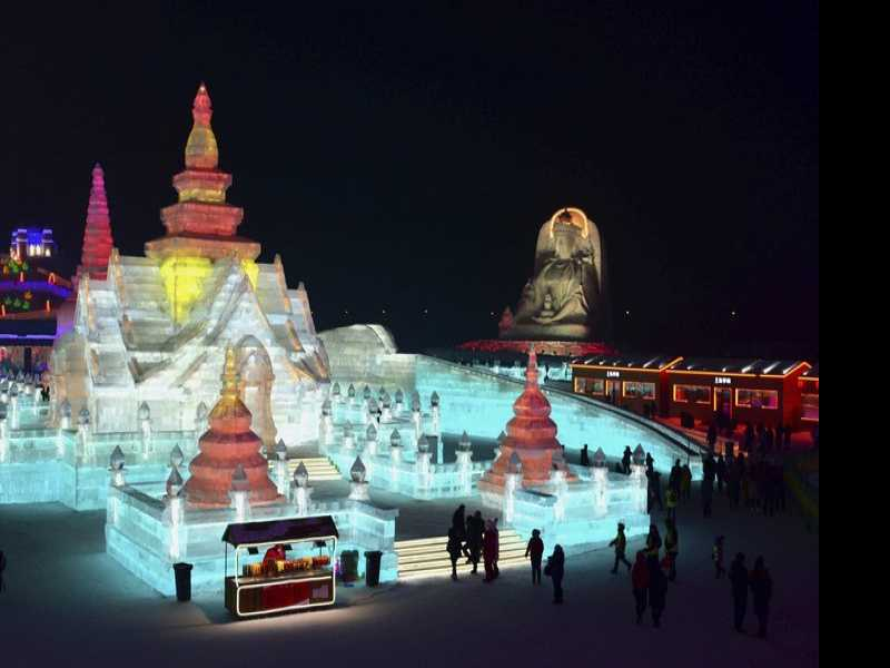 Brrr! The Harbin International Ice and Snow Festival
