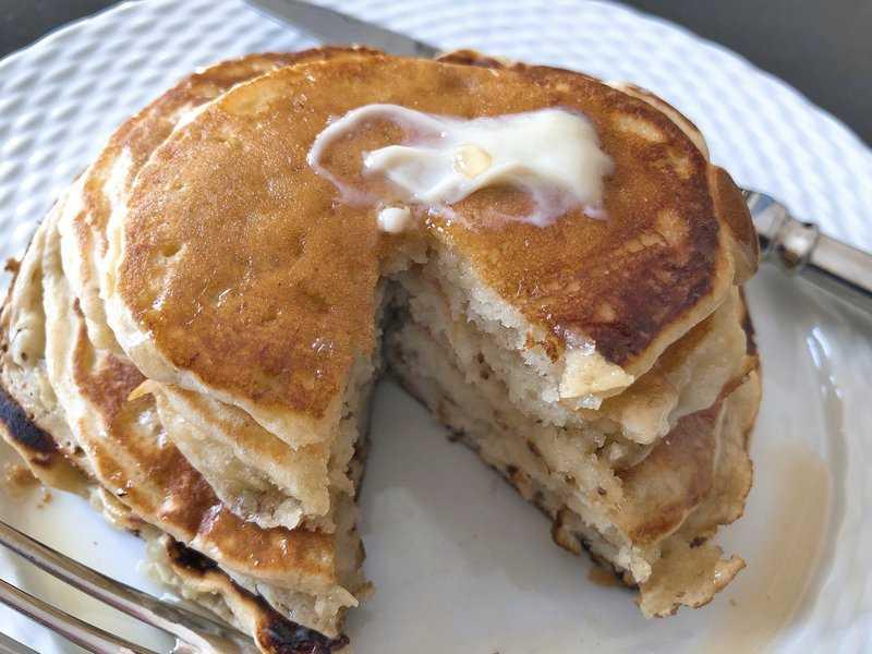Comfort Food: Banana Pancakes