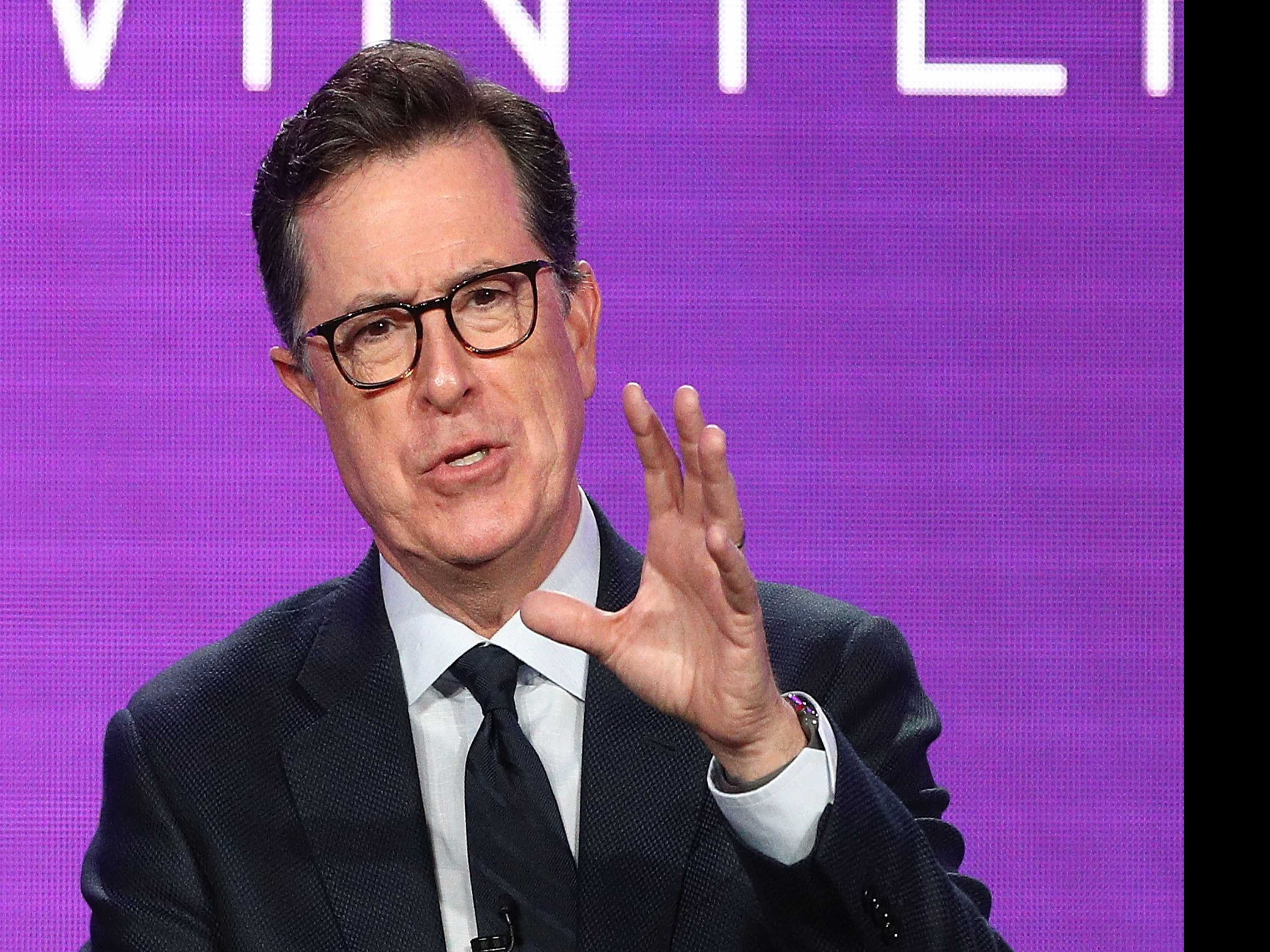 No Such Thing as Trump Fatigue for Stephen Colbert