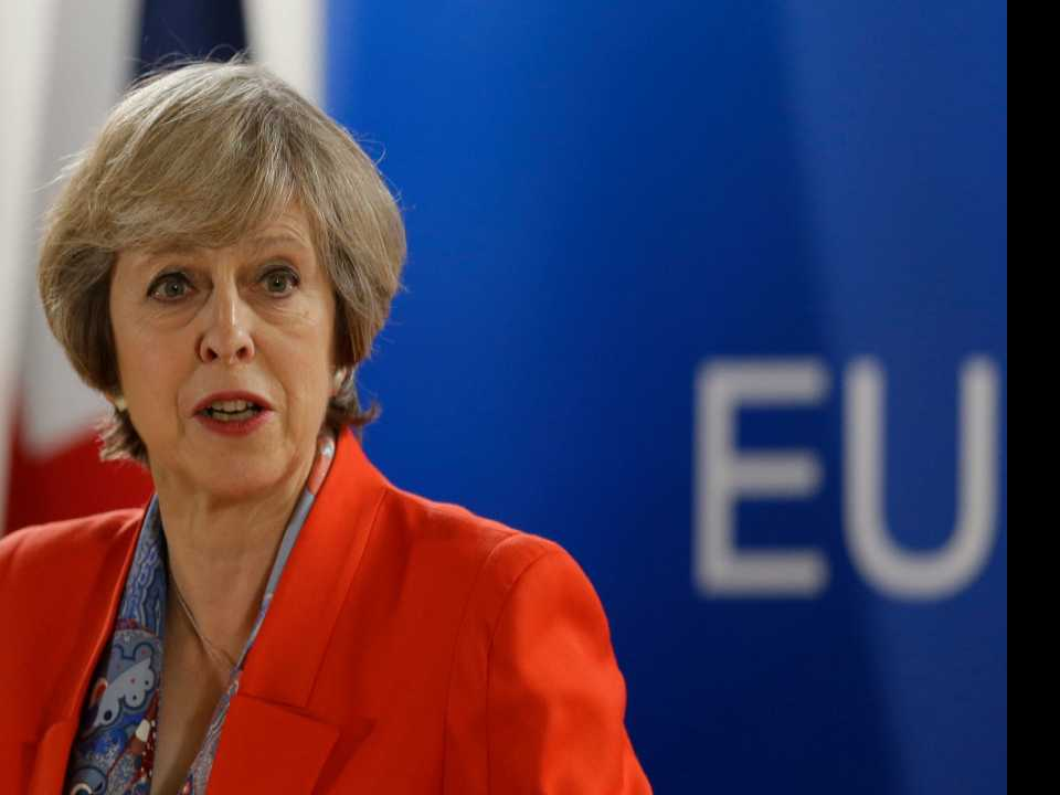 UK's May Says She Has No Concerns About Trump's Mental State