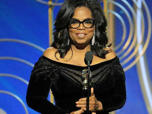 Oprah, 'Three Billboards' Triumph at Black-Draped Globes