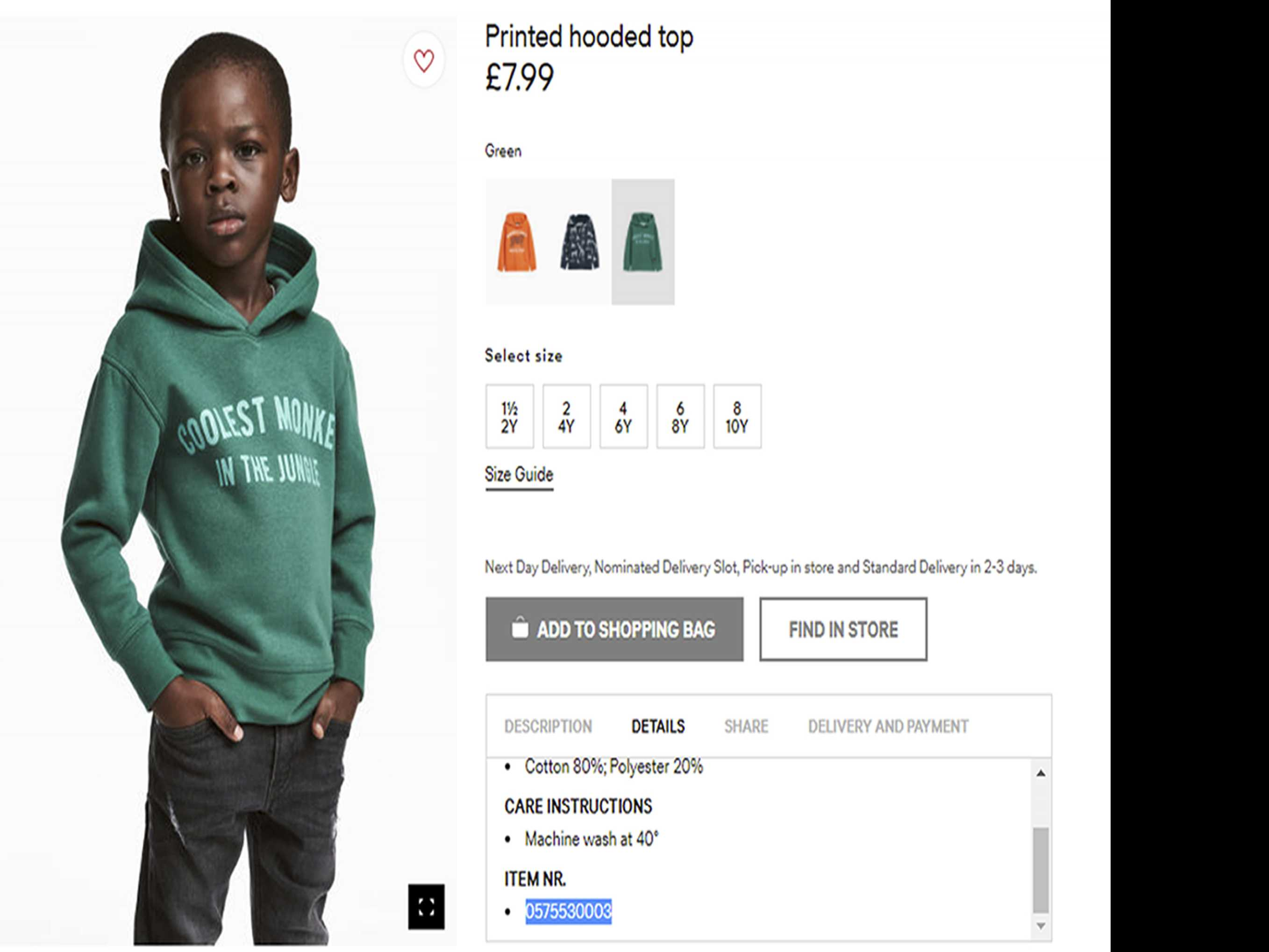H&M Apologizes After Racism Charges