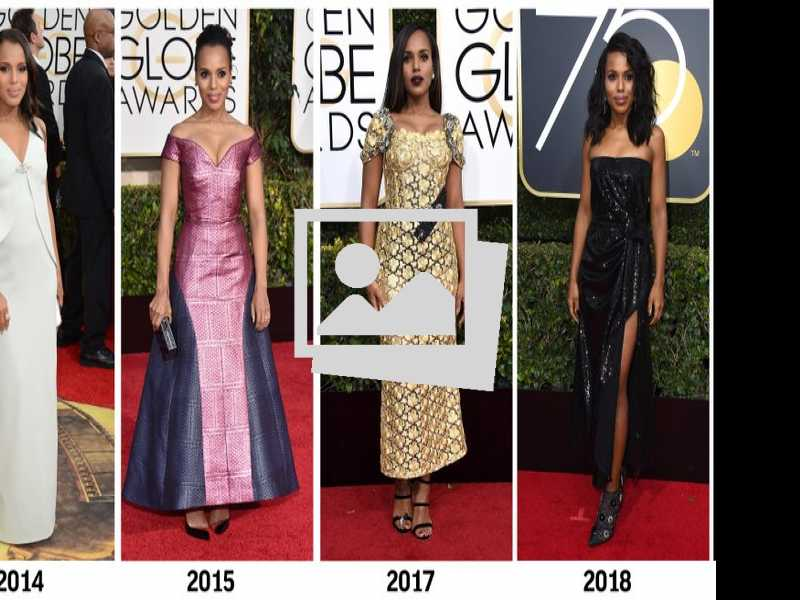 Bored with Black? A Look Back at Golden Globe Fashions