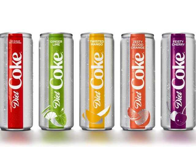 Diet Coke Gets New Look and Flavors Amid Sinking Sales