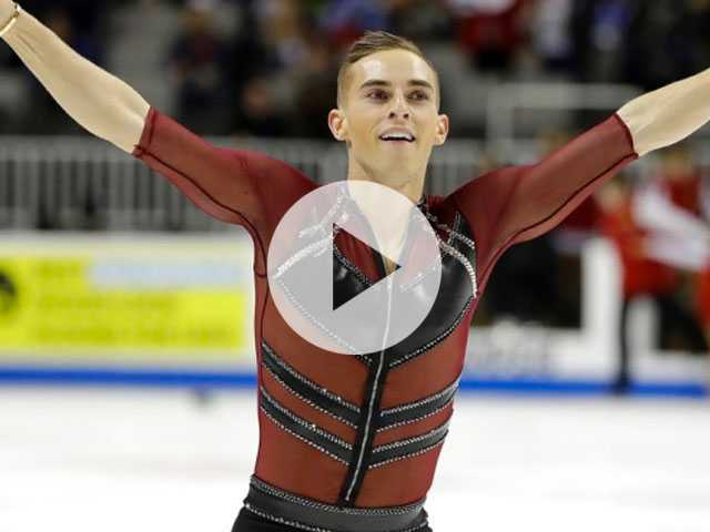 Watch: Out Figure Skater Adam Rippon Gets Political, Says He Wouldn't Feel Welcomed at White House