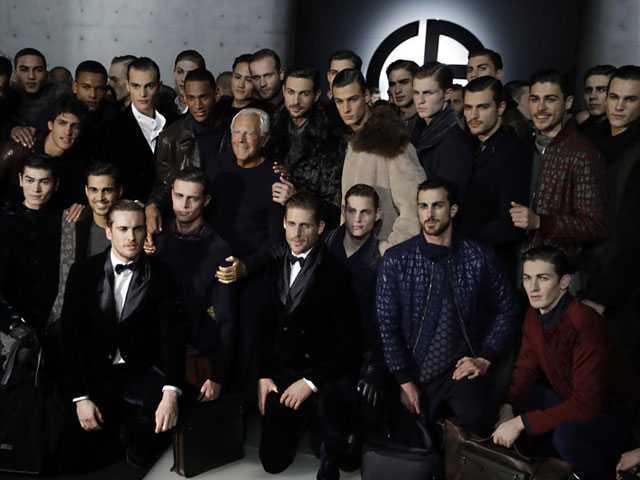 Milan Menswear: Versace, Armani & More