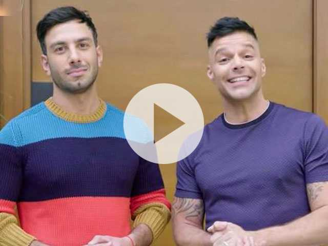 Watch: Newlyweds Ricky Martin & Jwan Yosef Show You Inside Their Fabulous LA Home