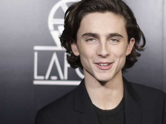 Actor Timothee Chalamet Says He'll Donate Salary From Woody Allen Film