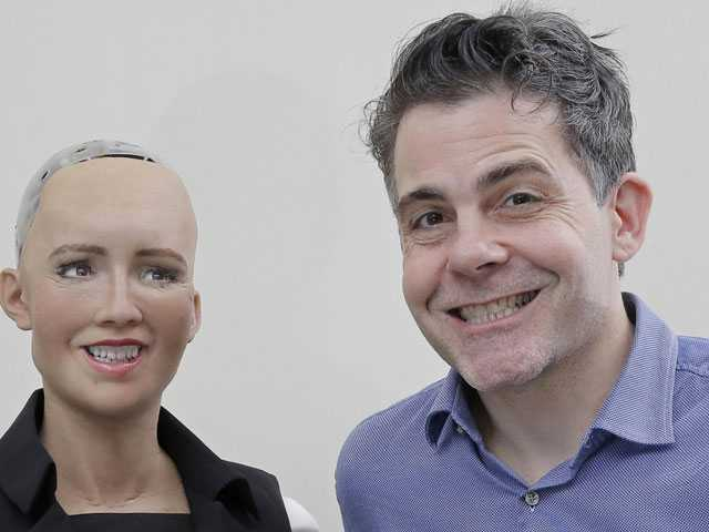 Lifelike Robots Made in Hong Kong Meant to Win Over Humans