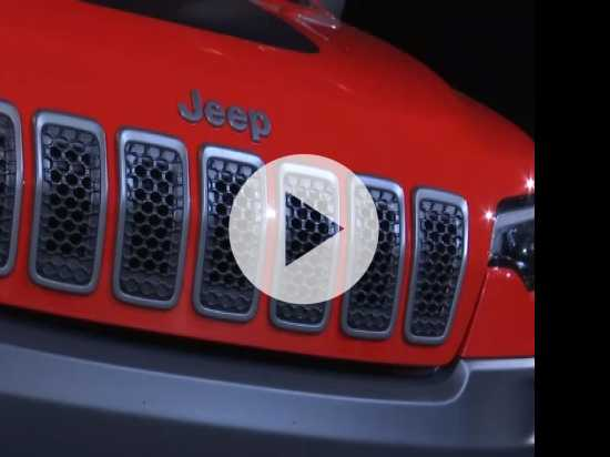 Jeep Unveils Sleek New Cherokee