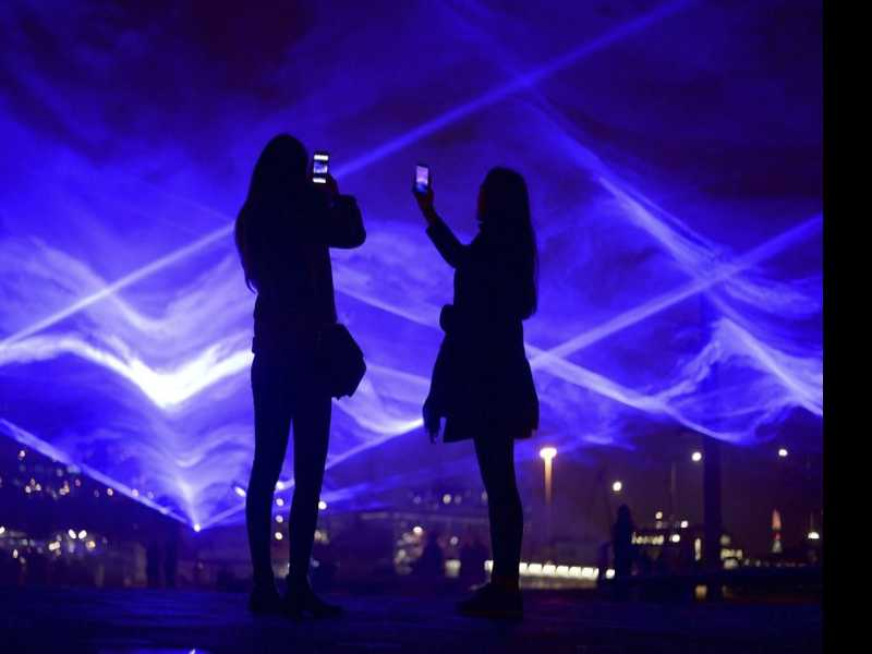 Outdoor Artworks Illuminate London at Lumiere Festival