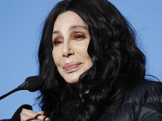 Cher Told Marchers to Use Their Voice and Vote