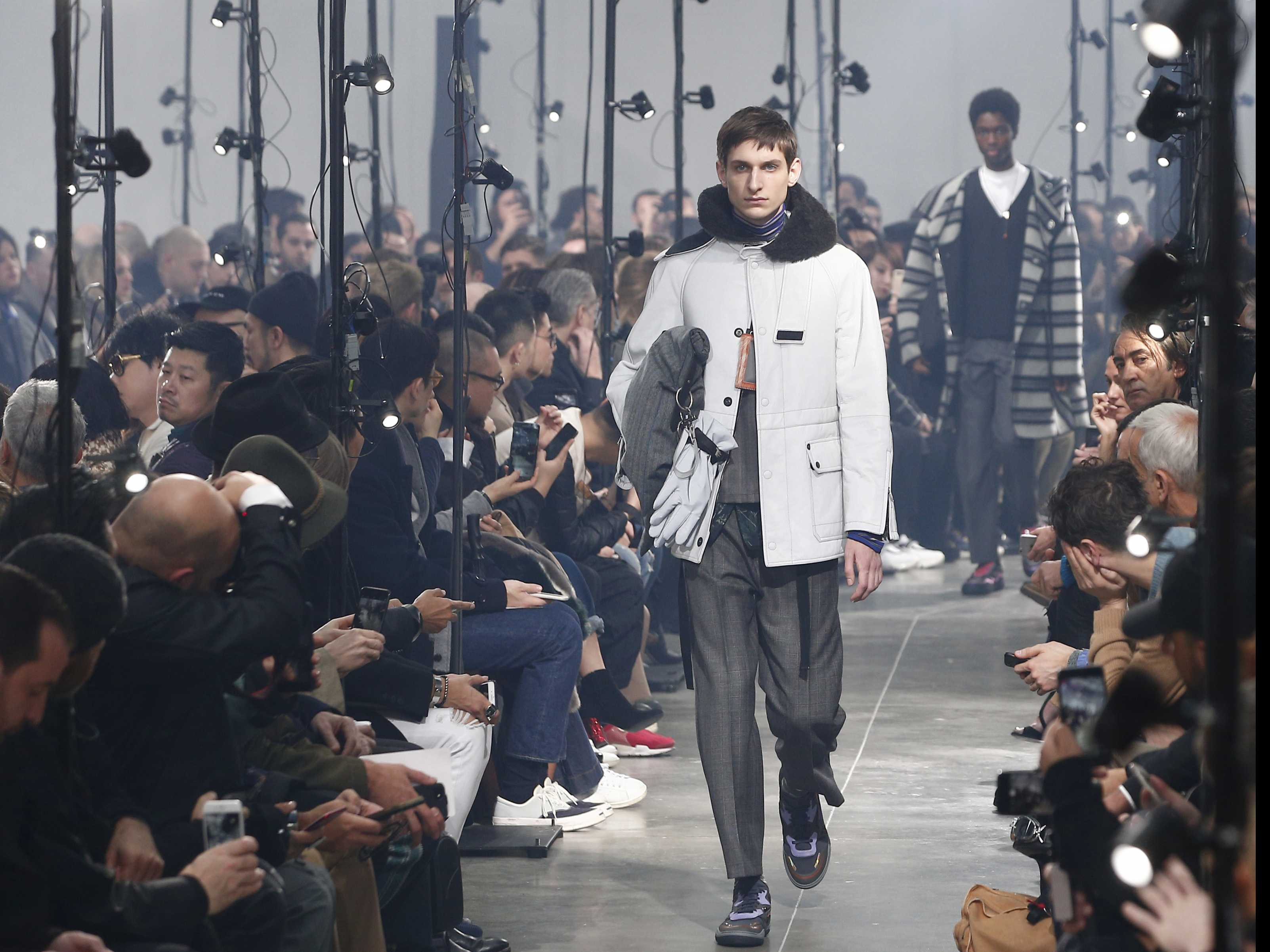 Paris Fashion Week Finale: Lanvin, Kenzo & More