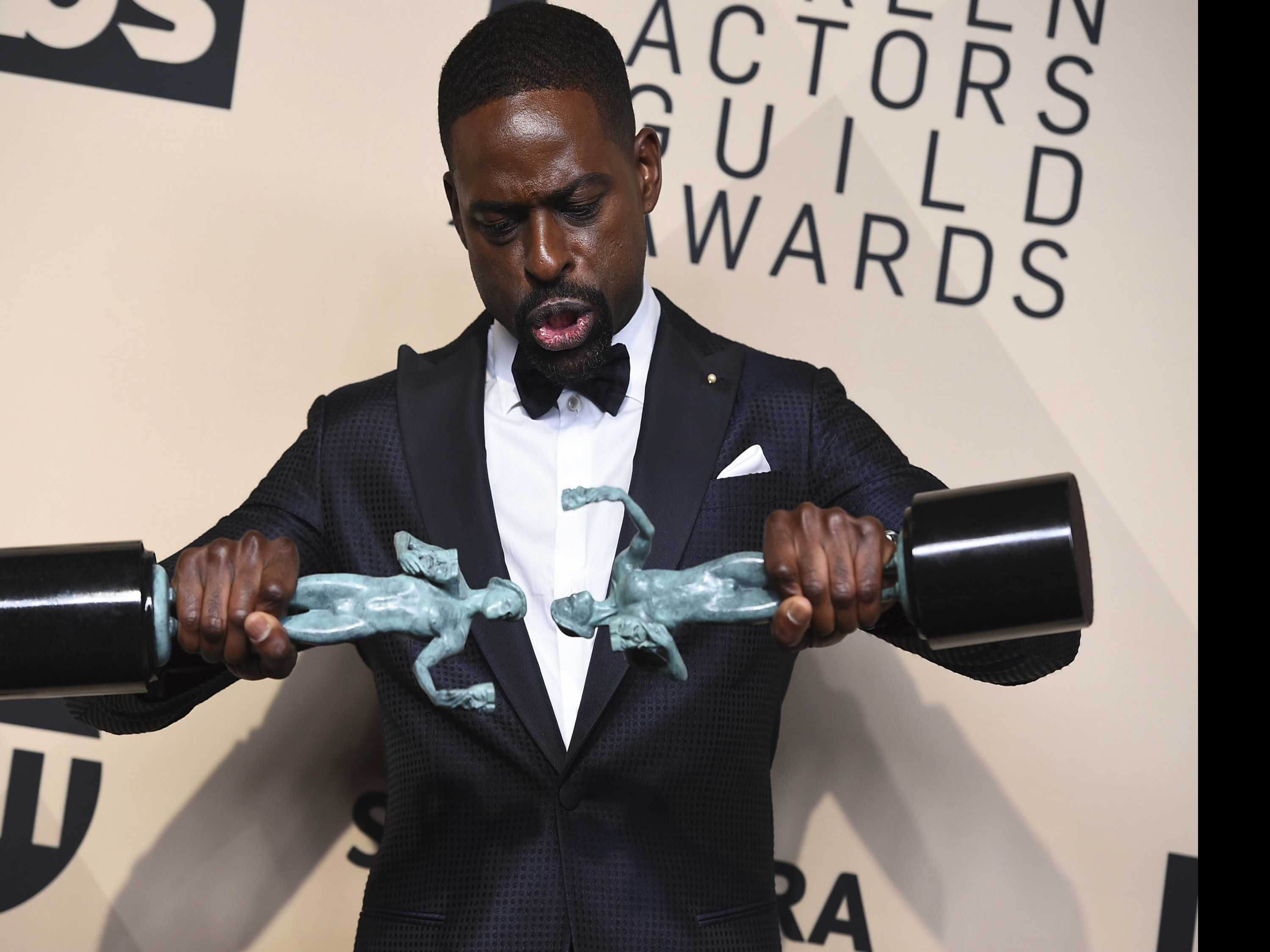 Memorable Moments You Didn't See at the SAG Awards
