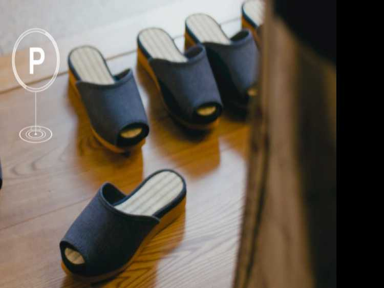 Japanese Hotel Opens with Self-Parking Slippers