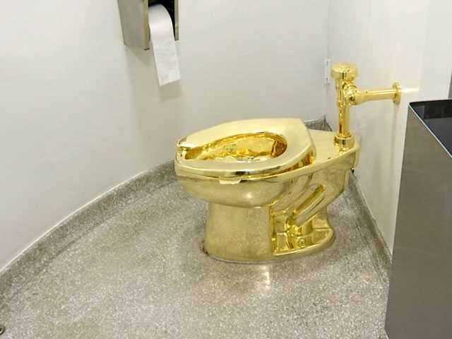 NY Museum Offered Used, Solid-Gold Toilet to Trumps