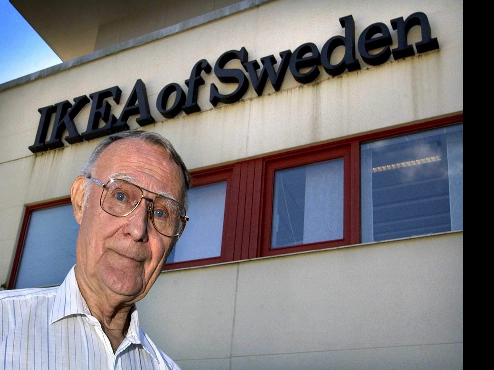 IKEA Says Founder Ingvar Kamprad has Died at 91