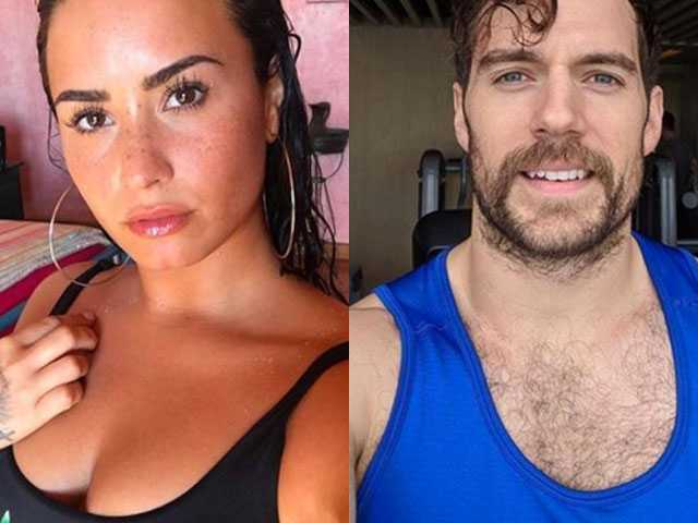 PopUps: Demi Lovato Thirsting for Henry Cavill is All of Us