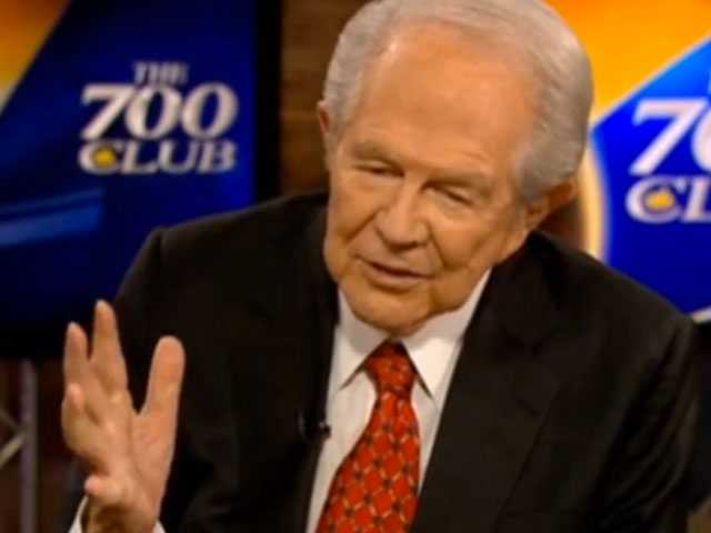 Anti-LGBTQ Televangelist Pat Robertson is Recovering After Suffering a Stroke
