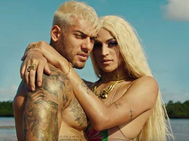 Watch: Brazilian Drag Queen Stars in New Music Vids, Makes Out with Diplo