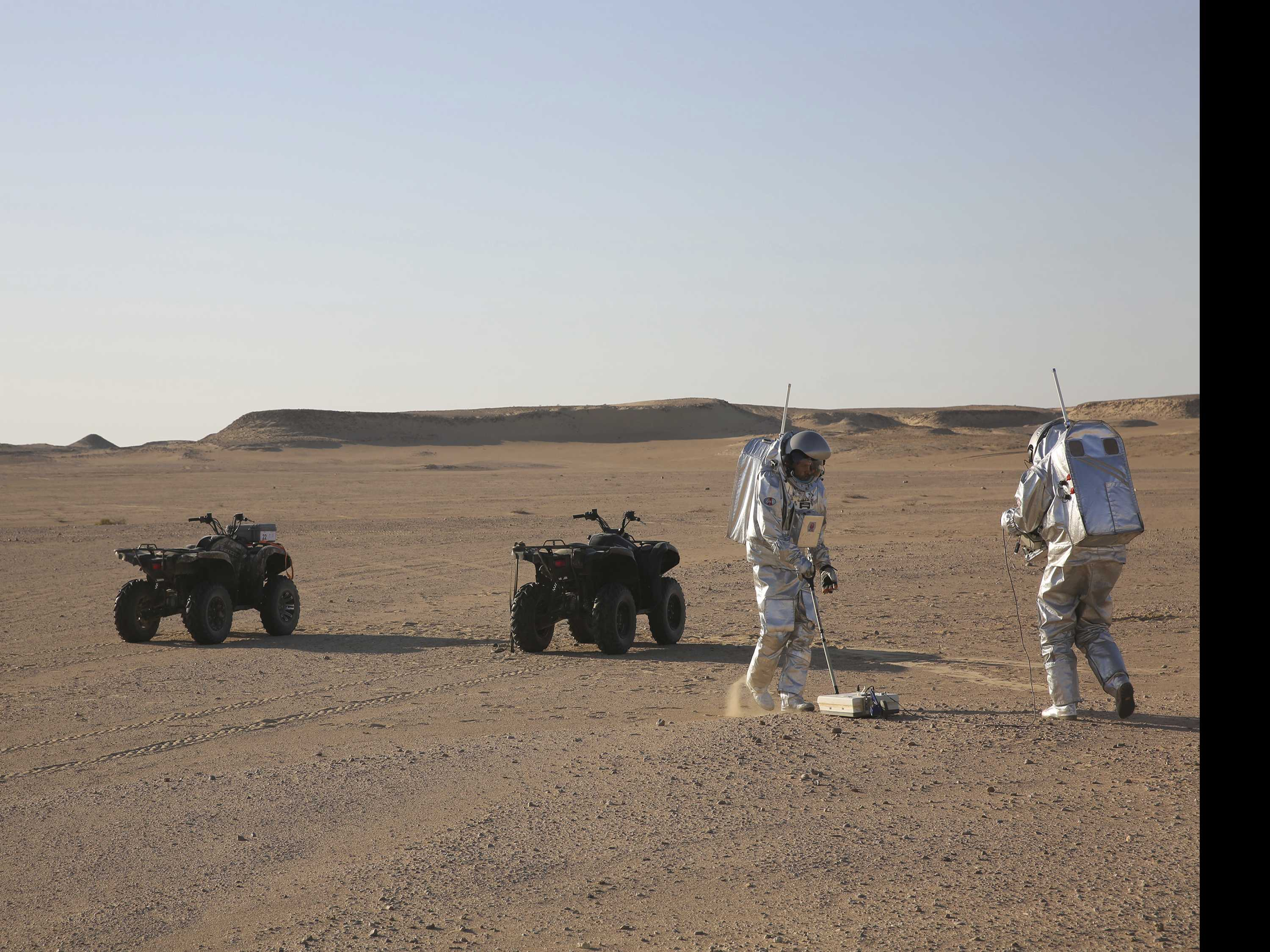 Mars on Earth: Simulation Tests in Remote Desert of Oman