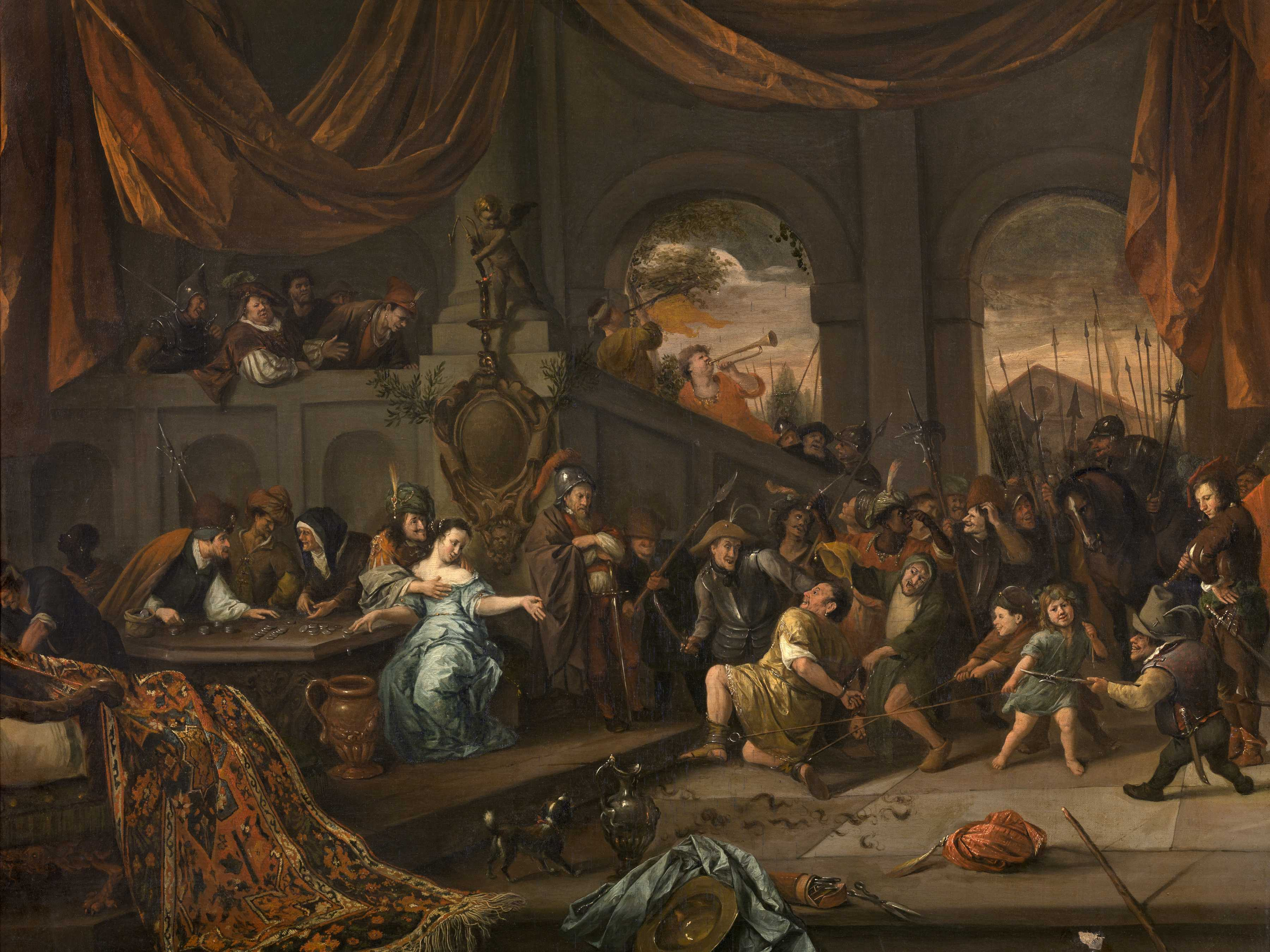 Museum: Painting Is A Genuine Jan Steen Artwork, Not A Copy